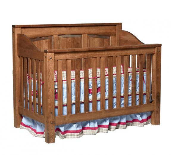 109 Jackson Raised Panel Baby Crib