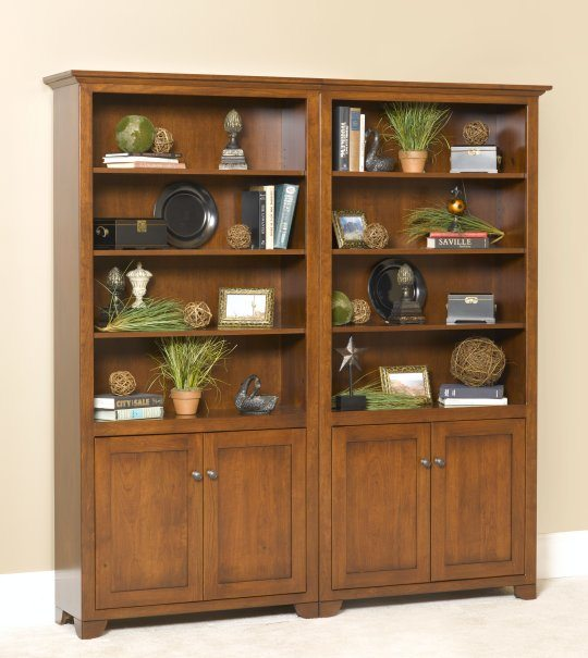 Cherry Valley G-3678B Bookcase with Doors