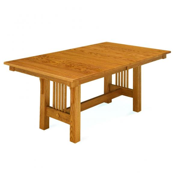 Trestle Mission Dining Table