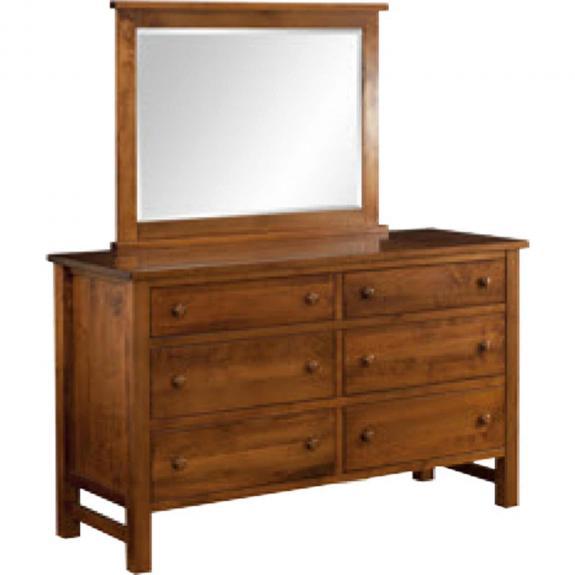 Cabin Creek Bedroom Set CA-554 Double Dresser