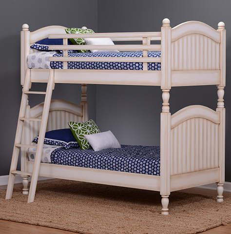 Cape Cod White Bunk Bed