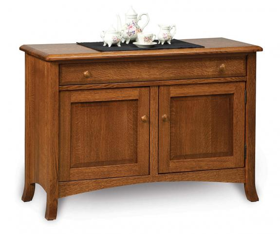 Carlisle Enclosed Coffee and End Tables Sofa Table Cabinet