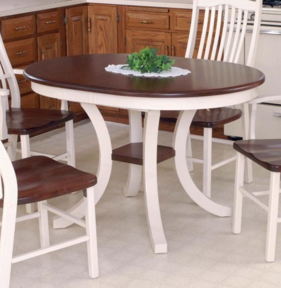 Carlisle Pedestal Dining Set 555 Carlisle Pedestal Table