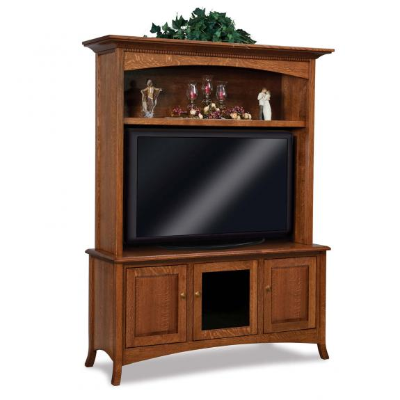 FVE-040-CR Carlisle Two Piece LED TV Cabinet