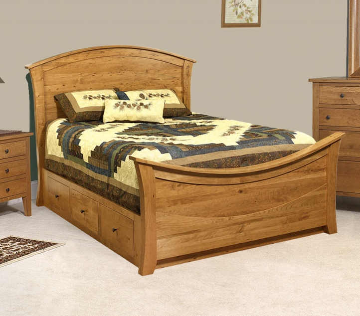 Chelsea Bedroom Furniture Set CA-442Q Rainbow Bed