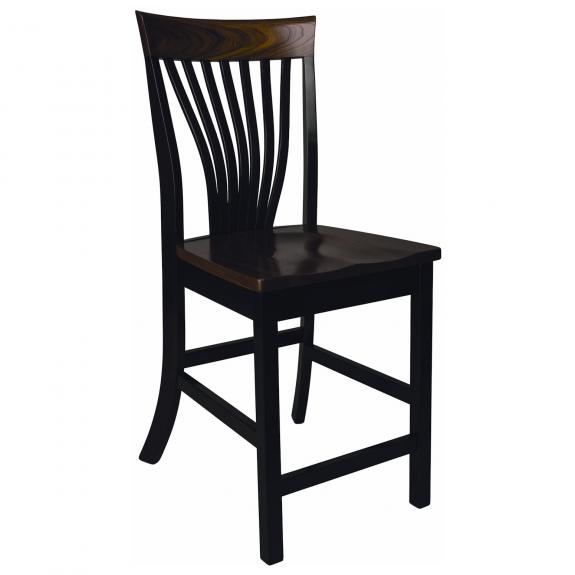 """Christy Dining Collection Fanback 24"""" Counter Stool"""