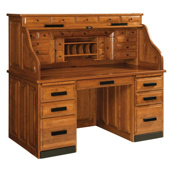 RW2001 Classic Deluxe Roll-Top Desk