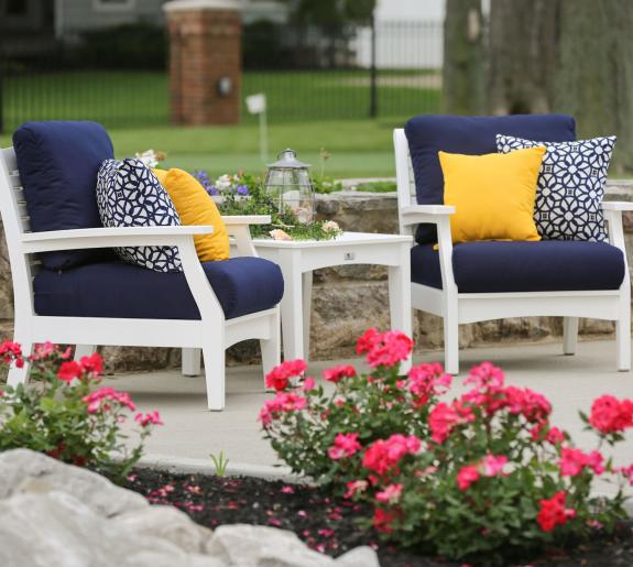 Classic Terrace Outdoor Seating Collection