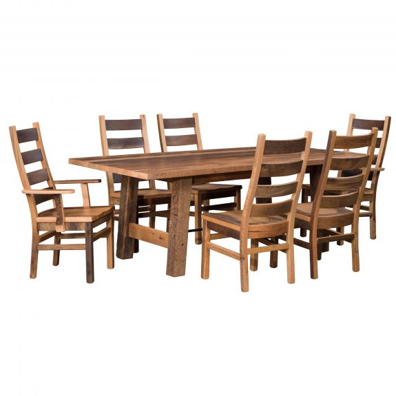Cleveland Dining Collection 138 Wood Dining Table