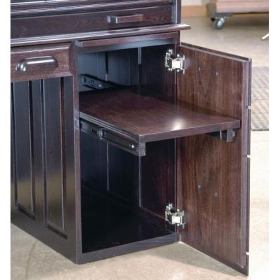 Computer-Deluxe-Rolltop-Desk-Drawer-Detail