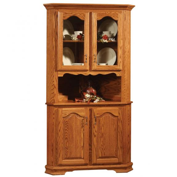 Country Collection Dining Set Corner Hutch