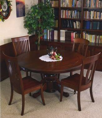 "60"" Anna Grace Round Dining Table"