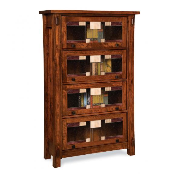 FVBR-4DR-CM Craftsman Barrister Bookcase