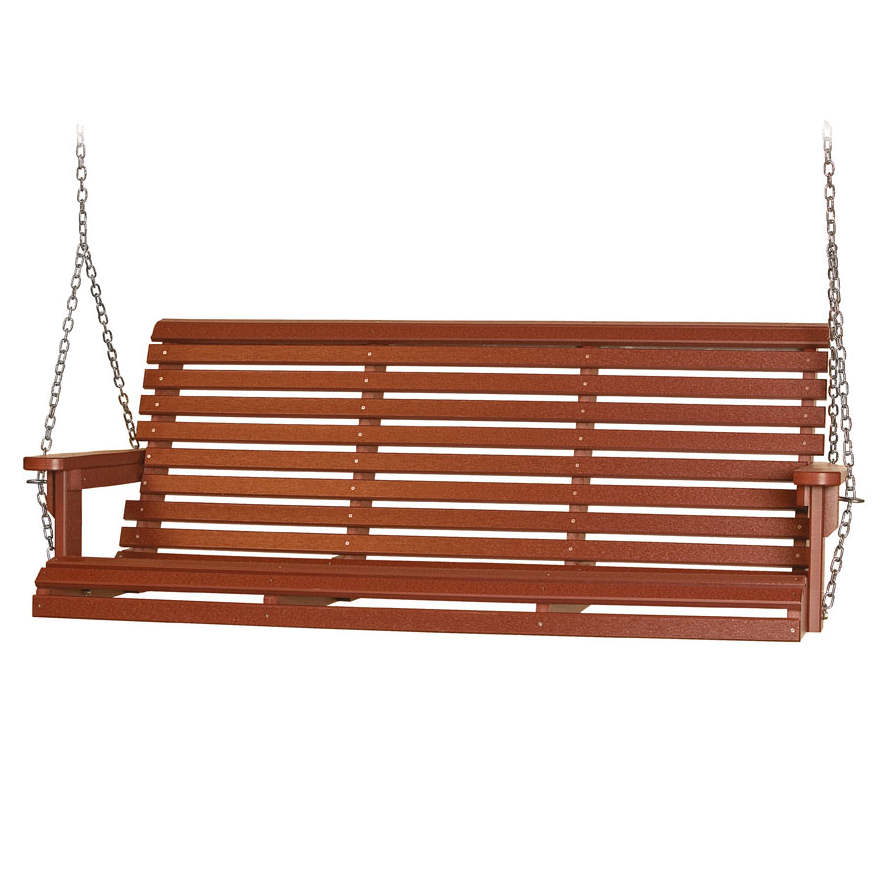 Crest Villa 5′ Porch Swing, Poly