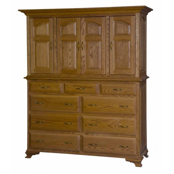 Crown Villa Bedroom Set MB3350 TV Mule Chest