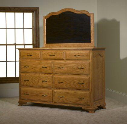 Crown Villa Bedroom Set MB3323 Mule Dresser
