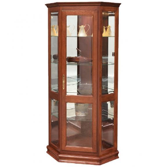 Deluxe Corner Curio Cabinet 2016