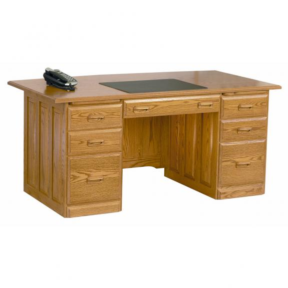 TX3666 Traditional Executive Desk