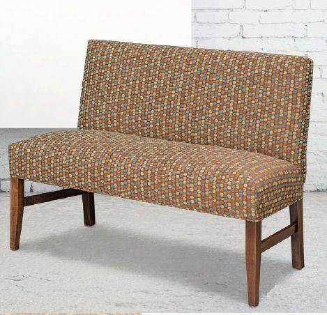 Dorset Fabric Dining Bench