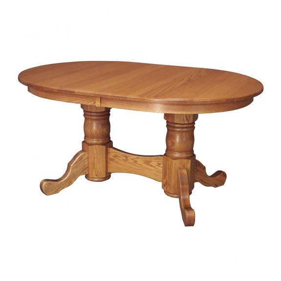 D-10 Double Pedestal Dining Table