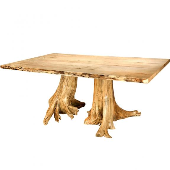 10100-0003 Double Stump Dining Table