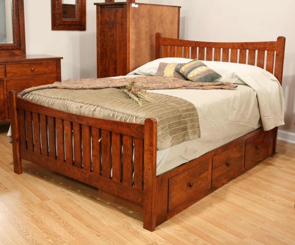 Cabin Creek Bedroom Set CA-595 Dreamland Bed