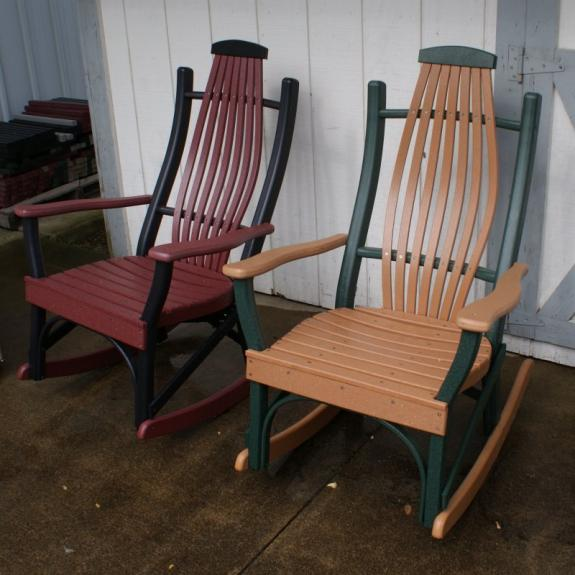 Amish Poly Rocking Chairs for Sale