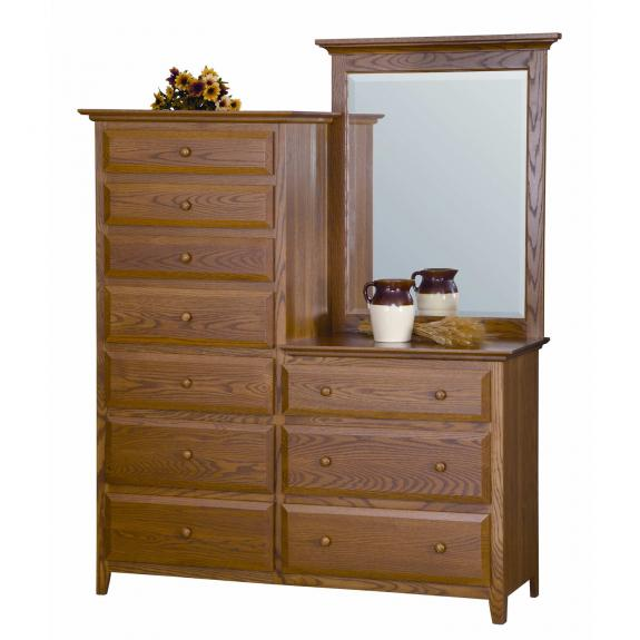English Shaker Bedroom Set MB1161 Chesser