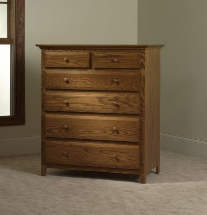 English Shaker Bedroom Set MB1152 Chest of Drawers