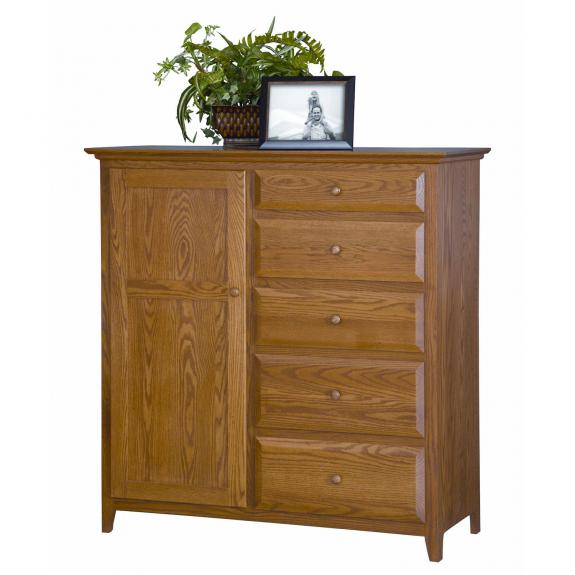 English Shaker Bedroom Set MB1153 Mans Chest