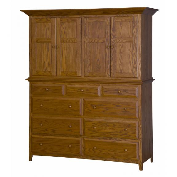 English Shaker Bedroom Set MB1150 Mule Chest