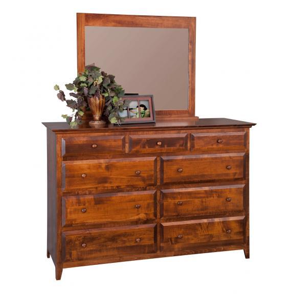 English Shaker Bedroom Set MB1123 Mule Dresser