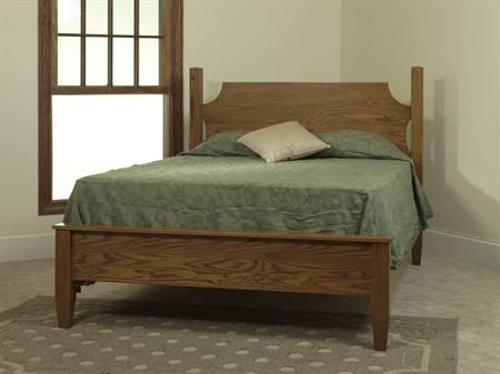 English Shaker Bedroom Set MB1114 Ridge Bed