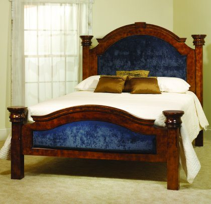Empress Bedroom Furniture Royal Blue Bed