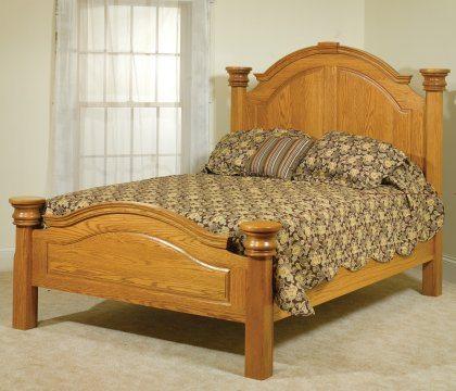 Empress Bedroom Furniture Oak Bed