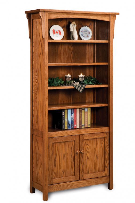 FVB-010-BM Bridger Mission Bookcase