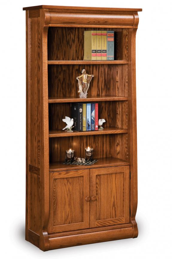 FVB-010-OCS Old Classic Sleigh Bookcase