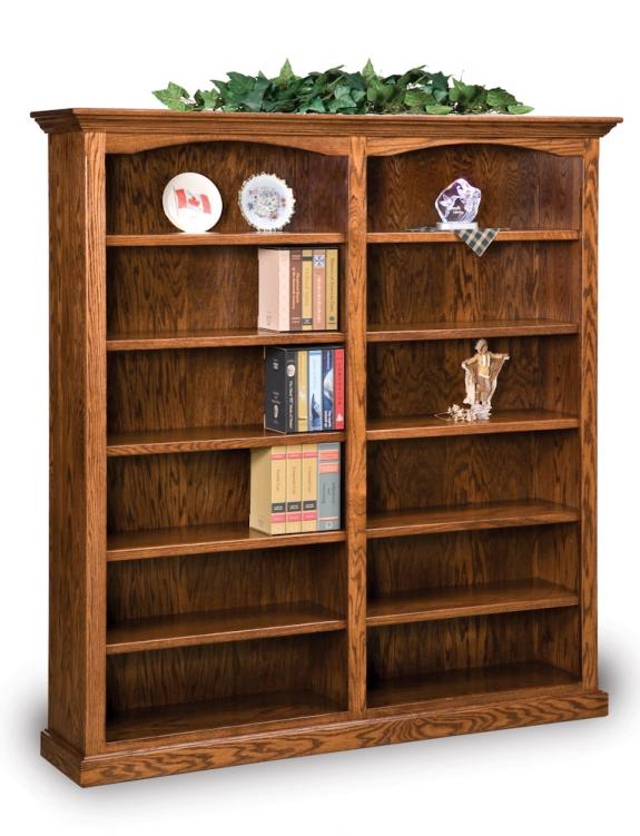 FVB-012-HH Hoosier Heritage Double Bookcase