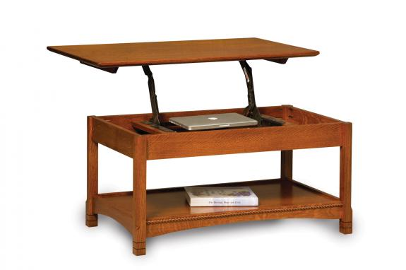 West Lake Open Occasional Tables FVCT-WL-LT Lifttop Coffee Table