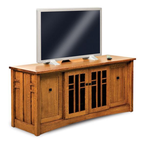 "FVE-034-KS-BP Flat Panel TV Stand 66"""