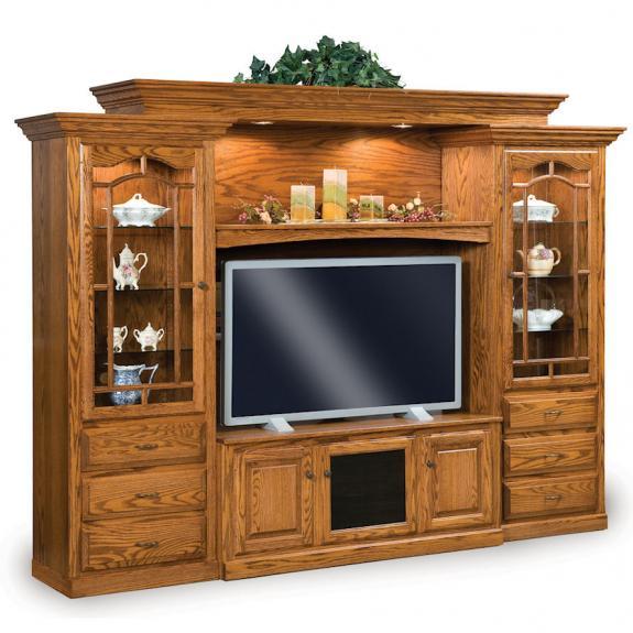 FVE-049-HH Hoosier TV Wall Unit
