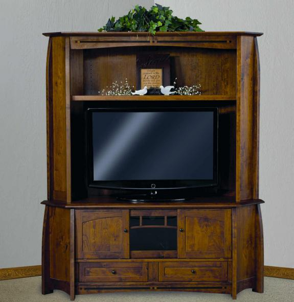 FVE-053-BC Boulder Creek Corner TV Cabinet