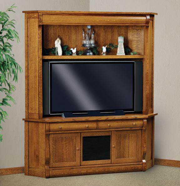 FVE-053-OCS LCD TV Corner Hutch