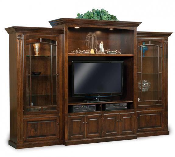FVE-193 Victorian Large Wall TV Cabinet