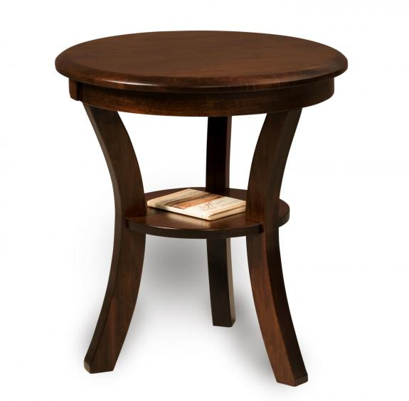Sierra Coffee and End Tables FVET-22R Round End Table