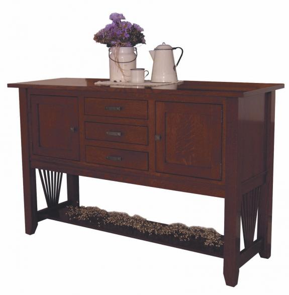 40 Mission Fantail Dining Collection Fantail Dining Room Buffet