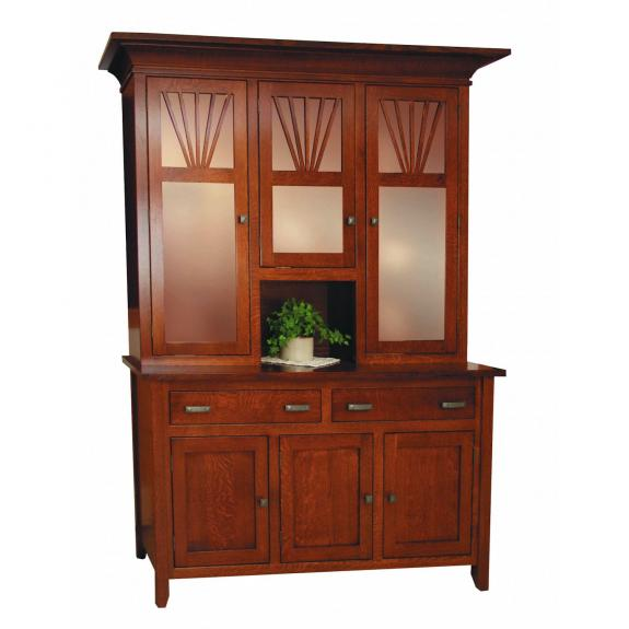 40 Mission Fantail Dining Collection Fantail Dining Room Hutch
