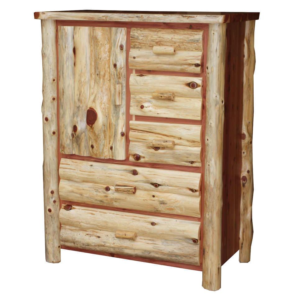 Log Armorie with Side Door