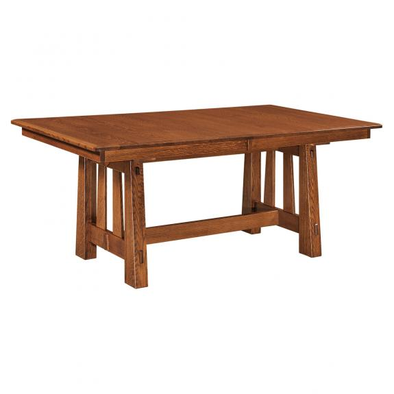 Freemont Dining Collection Freemont Trestle Dining Table