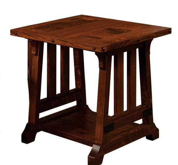Garber Occasional Tables GB2427PE End Tables